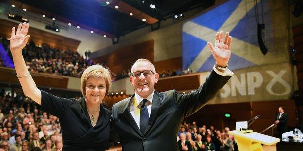 Schottland droht bereits mit Abspaltung