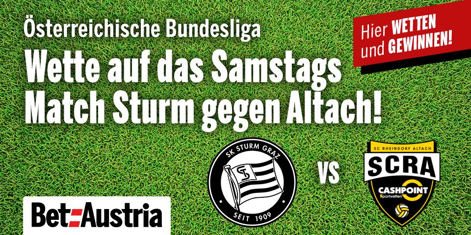 Sturm vs Altach Marketingteaser