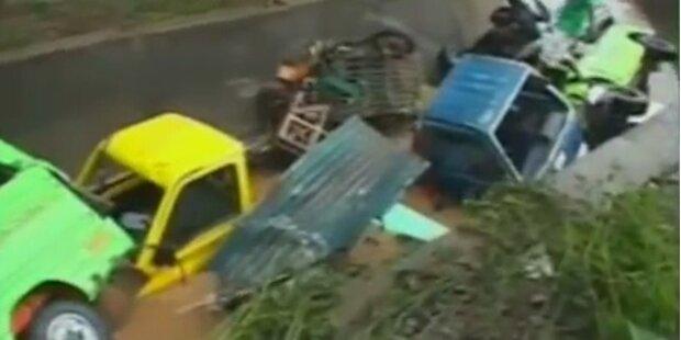 Sturm auf Philippinen: Hunderte vermisst