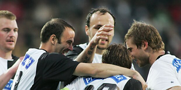 SV Ried unterlag zu Hause Sturm Graz 1:2