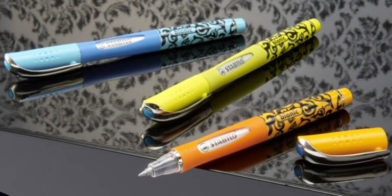 Stylische Stifte im Barock-Stil