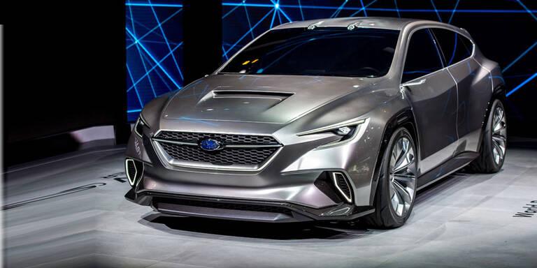 So scharf wird der neue Subaru Levorg