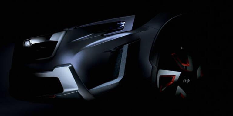 Subaru stellt das XV Concept vor