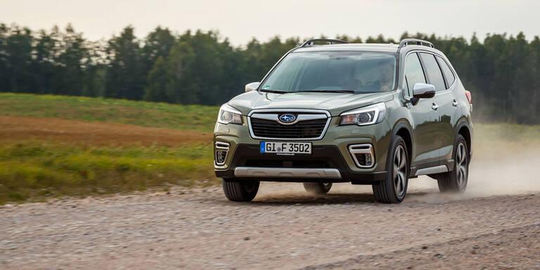 Neuer Subaru Forester mit e-Boxer startet