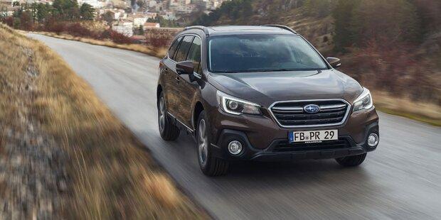 Subaru wertet den Outback auf
