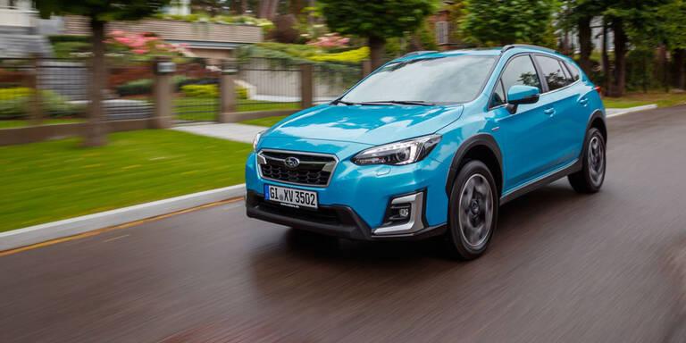Auch Subaru XV jetzt mit e-Boxer