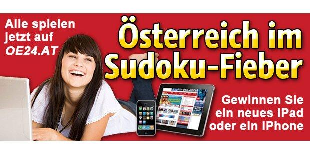 Die große oe24.at-Sudoku-Meisterschaft