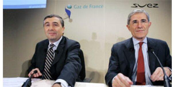 Suez und GdF einigen sich auf Fusion