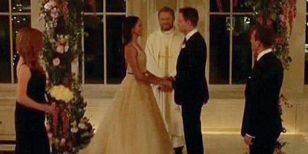 Meghan: Im TV hat sie schon geheiratet!