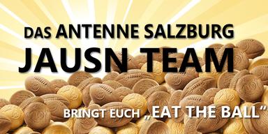 Das Antenne Salzburg Jausen Team
