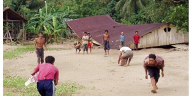 Schweres Erdbeben erschütterte indonesische Insel