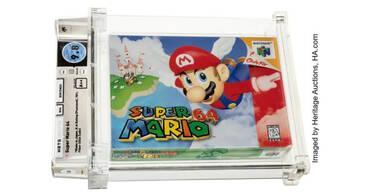 """""""Super Mario 64"""" ist teuerstes Videospiel aller Zeiten"""