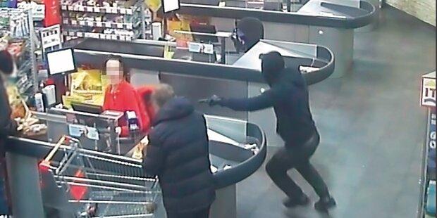 5 Teenies raubten Supermärkte aus