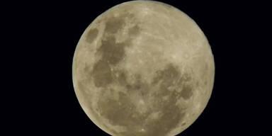 Super-Mond: Spektakel am Himmel