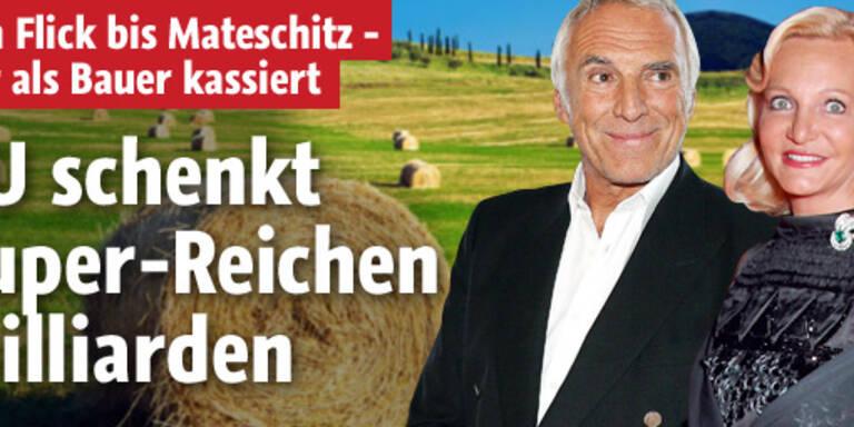 EU: Bauern-Milliarden für die Superreichen
