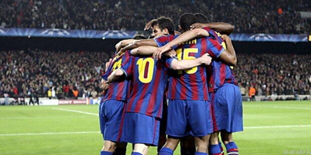 Barca und Inter im Champions-League-Halbfinale
