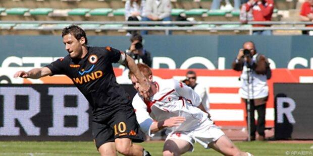 Fußball: Serie-A-Spitzentrio gab sich keine Blöße