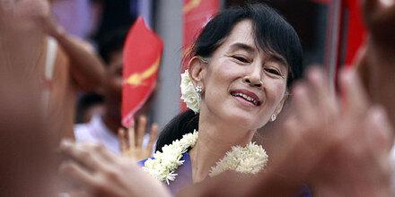 Suu Kyi: Erste Auslandsreise