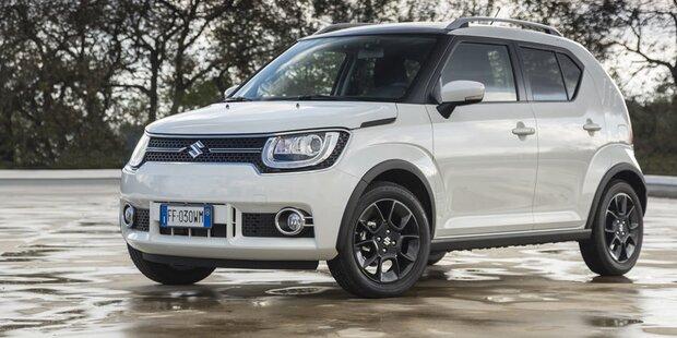 Suzuki Schickt Neuen Ignis Ins Rennen