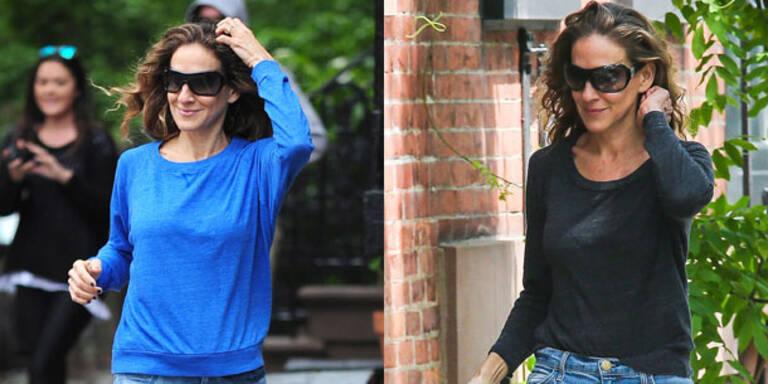 Sarah Jessica Parker setzt Sweater-Trend