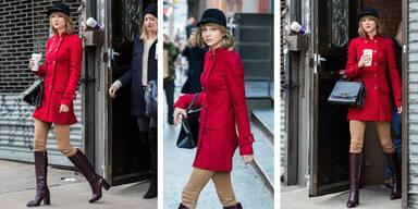 Taylor Swift im Reiterlook