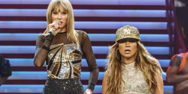 Taylor Swift rockt mit Jennifer Lopez