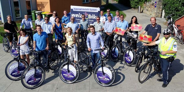 Wiener Firma Sycube revolutioniert Fahrradverleih