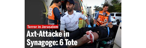 Axt-Attacke in Synagoge: 6 Tote