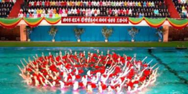 Pompöse Geburtstagsfeiern für Staatschef Kim