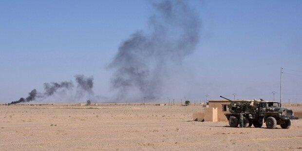 IS-Konvoi erreichte Provinz Deir Ez-Zor