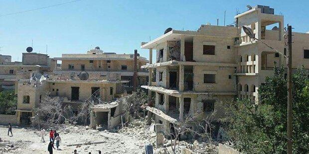 Geburtsklinik im Westen Syriens bombardiert