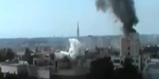 Syrische Armee schoss auf Flüchtlinge in Türkei