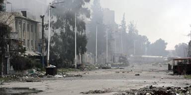 Waffenruhe in der syrischen Provinz Homs vereinbart