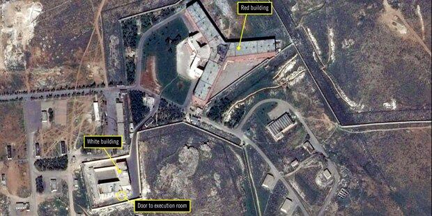 Hier ließ Assad bis zu 13.000 Menschen hinrichten