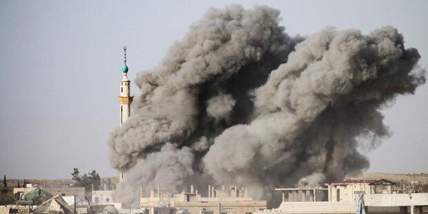 57 Tote bei Luftangriff gegen IS-Gefängnis