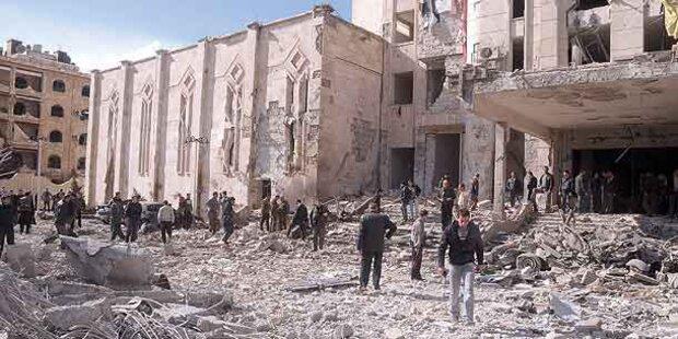 Syrien-Bürgerkrieg weitet sich aus