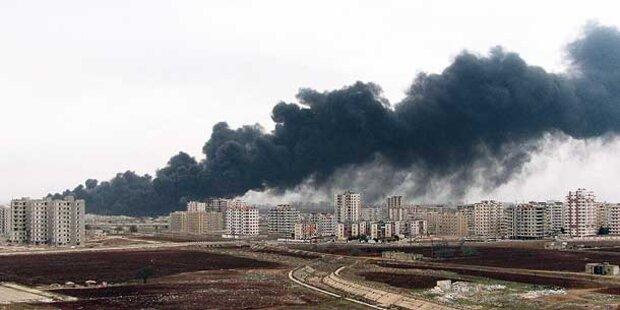Assad räuchert Homs aus