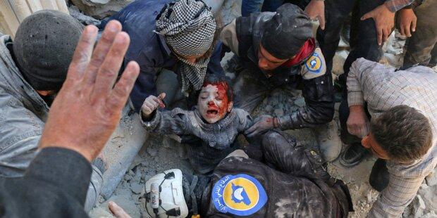 Russland begeht Kriegsverbrechen in Syrien