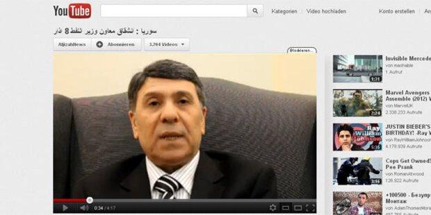 Syrien: Vize-Minister reicht´s - Er wird Rebell