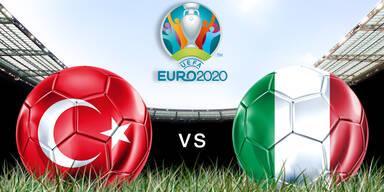 Eröffnungsspiel der EM 2020: Türkei gegen Italien