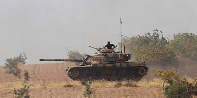 Türkei Panzer Syrien