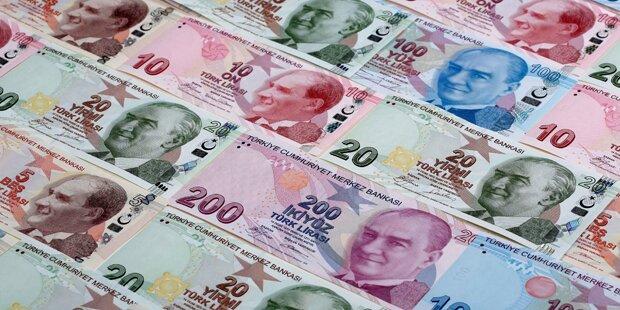 Türkische Lira wieder schwächer – Euphorie verflogen