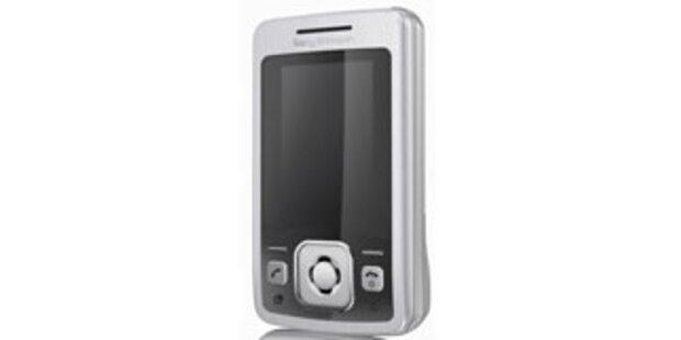 Slider-Handy mit Spiegeldisplay