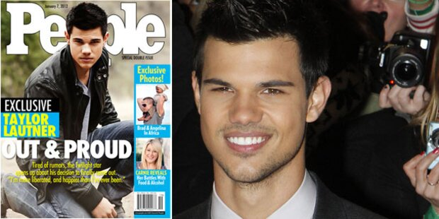 Taylor Lautners unfreiwilliges Outing