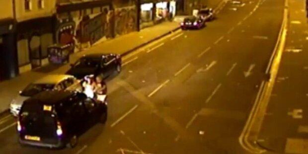 Taxilenker überfährt eigenen Fahrgast