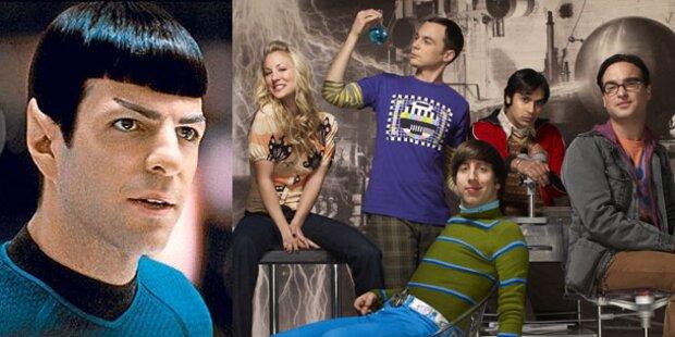 Mr. Spock will in die Nerd-WG