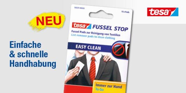Die Innovation:  tesa®  Fussel Stop