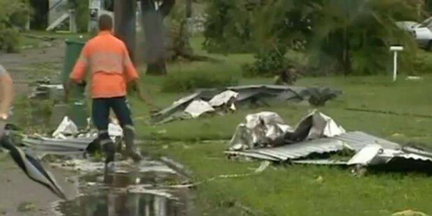 Tropensturm zerstört australische Stadt