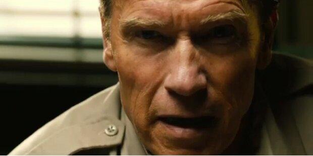 Österreich-Visite: Arnie (auch) im Kino