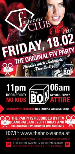 fashiontv Party Flyer